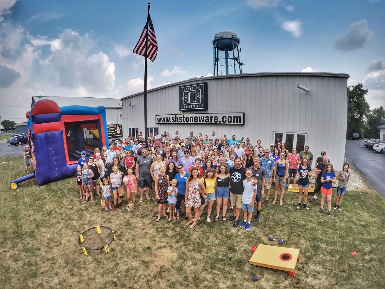 2018 company picnic group photo
