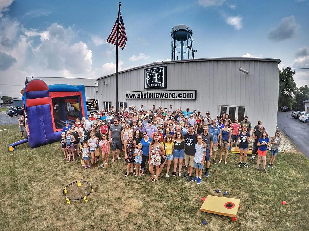 2018 company picnic group photo